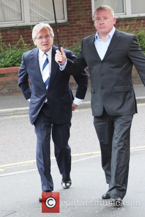 Coronation Street actor William Roache arrives at Preston...