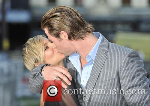 Chris Hemsworth and Elsa Pataky at 'Rush' world premiere