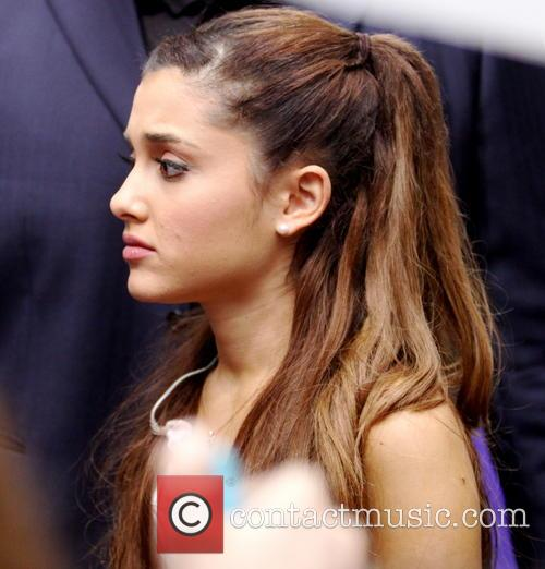 Ariana Grande Performs On Today Show