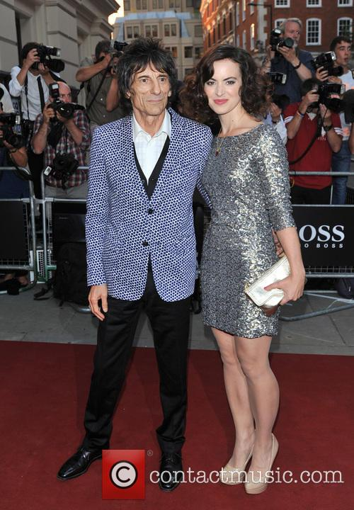 Ronnie Wood and Sally Humphryes 2