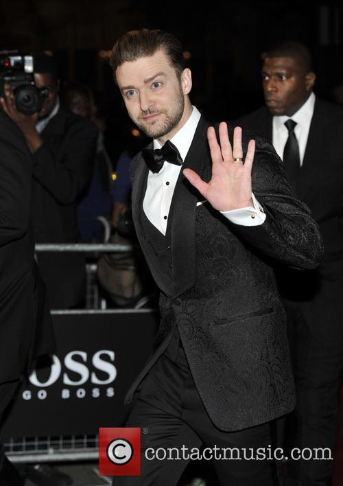 Justin Timberlake at GQ Awards in London