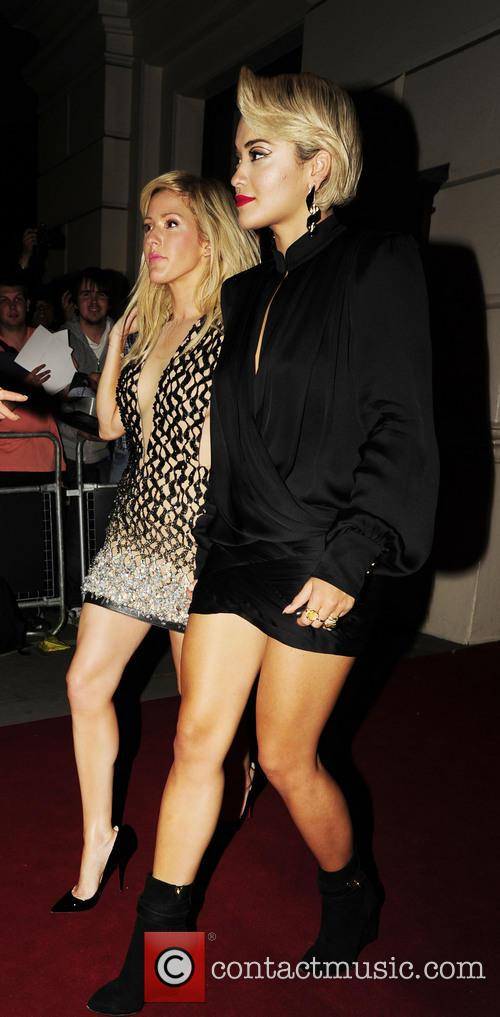 Ellie Goulding and Rita Ora 6