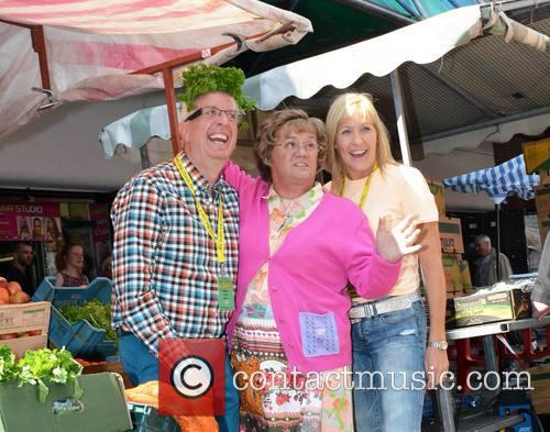 Rory Cowan, Brendan O'carroll and Jenny O'carroll 4