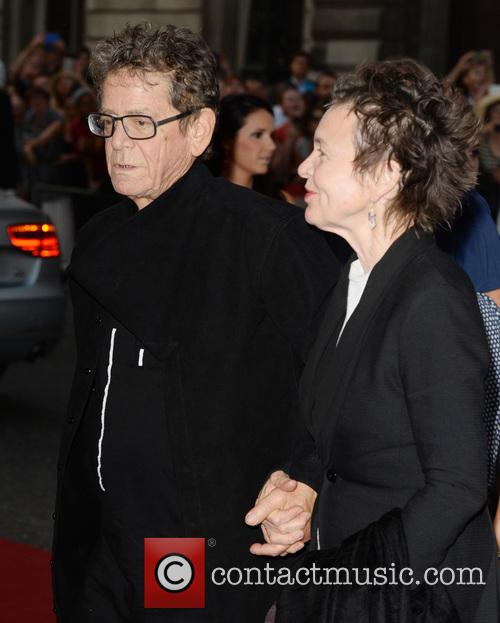 Lou Reed and Laurie Anderson 1