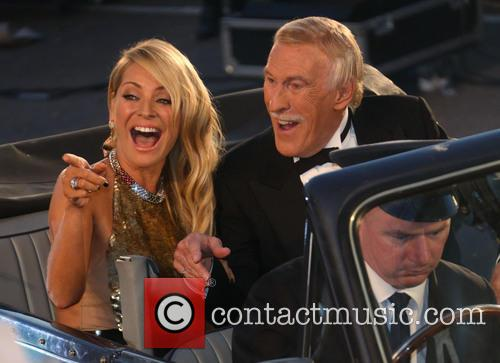 Tess Daly and Sir Bruce Forsyth 4