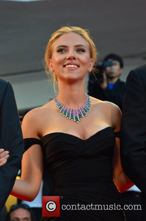 Scarlett Johansson Under the Skin premiere