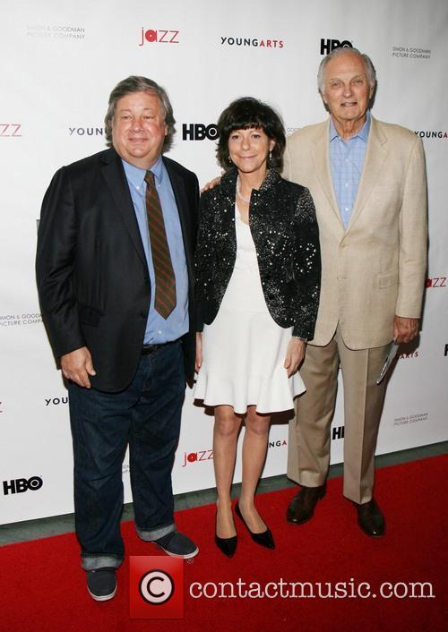 Kirk Simon, Karen Goodman and Alan Alda 2