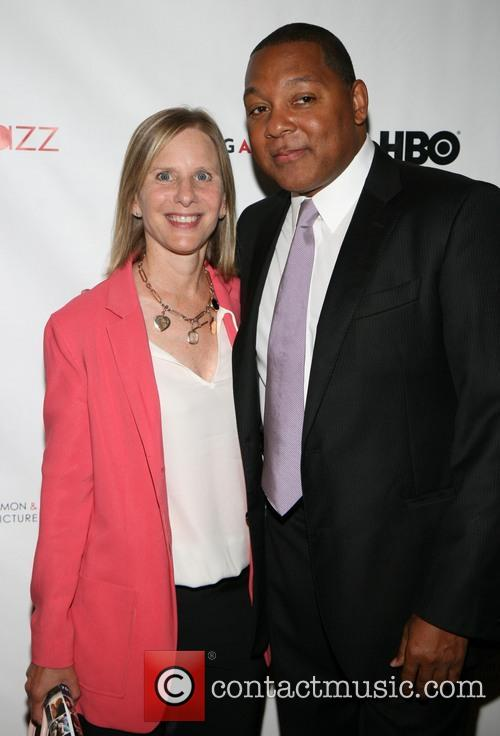Melanie Shorin and Wynton Marsalis 1