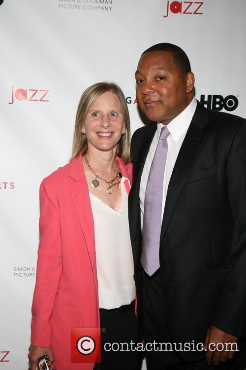 Melanie Shorin and Wynton Marsalis 2