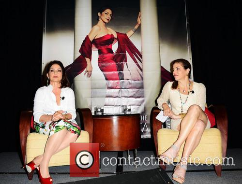 Gloria Estefan and Leila Cobo 7