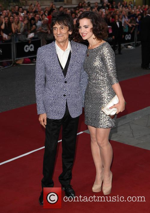 Ronnie Wood and Sally Humphries 7