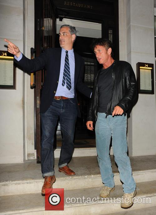 Sean Penn and Guest 11
