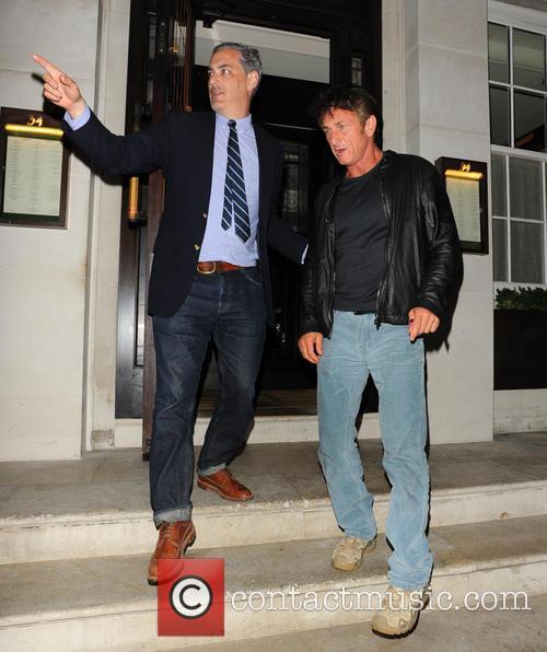 Sean Penn and Guest 5