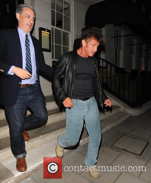 Sean Penn and Guest 1