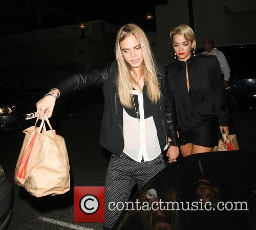 Cara Delevingne Rita Ora
