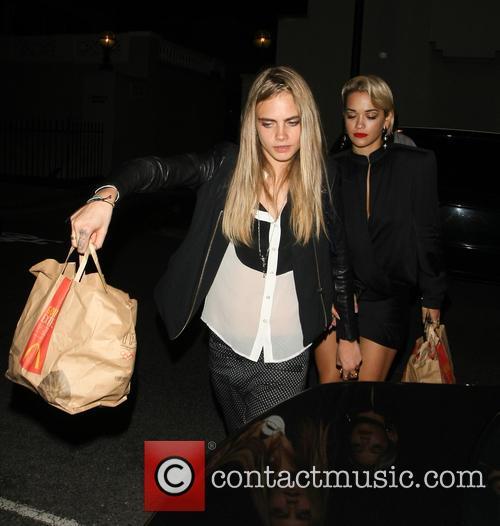 Rita Ora and Cara Delevingne 6