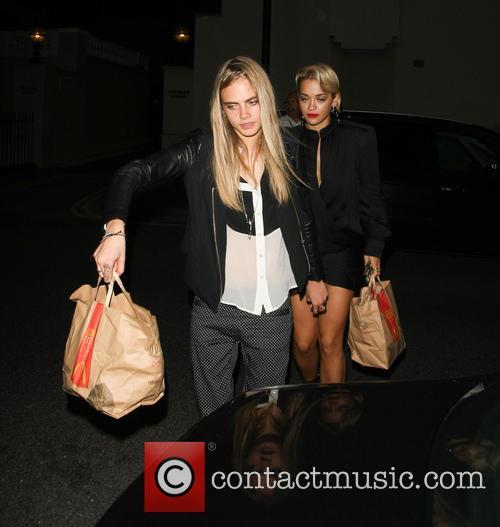 Rita Ora and Cara Delevingne 8