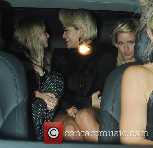 Ellie Goulding, Rita Ora and Cara Delevingne 4