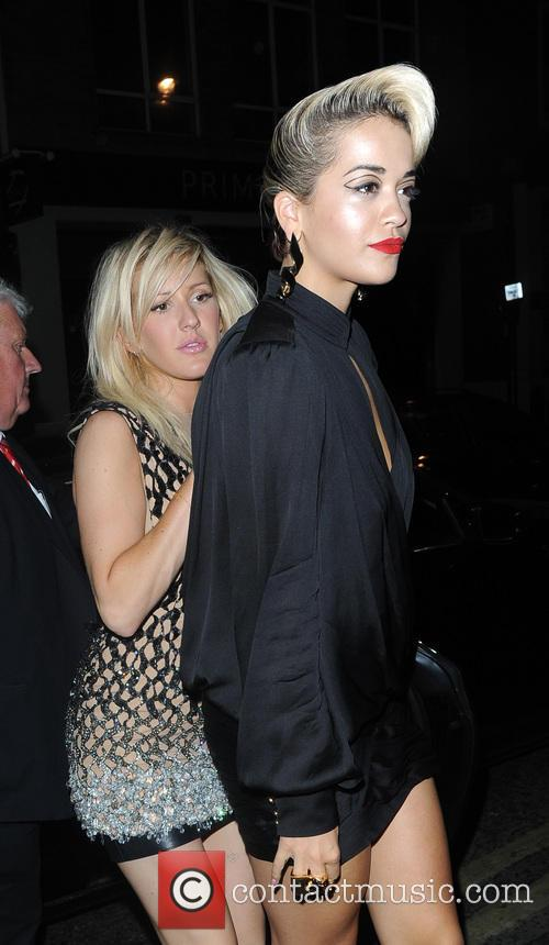 Ellie Goulding and Rita Ora 2
