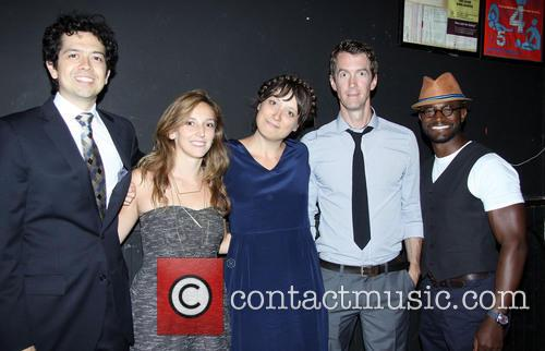Geoffrey Arend, Adrienne Campbell-Holt, Nikole Beckwith, Adam Harrington and Taye Diggs 1