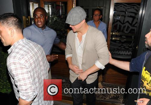 channing tatum celebrities at the groucho club 3850063
