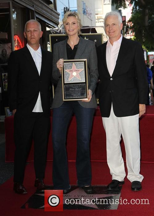 Ryan Murphy, Jane Lynch and Christopher Guest 1