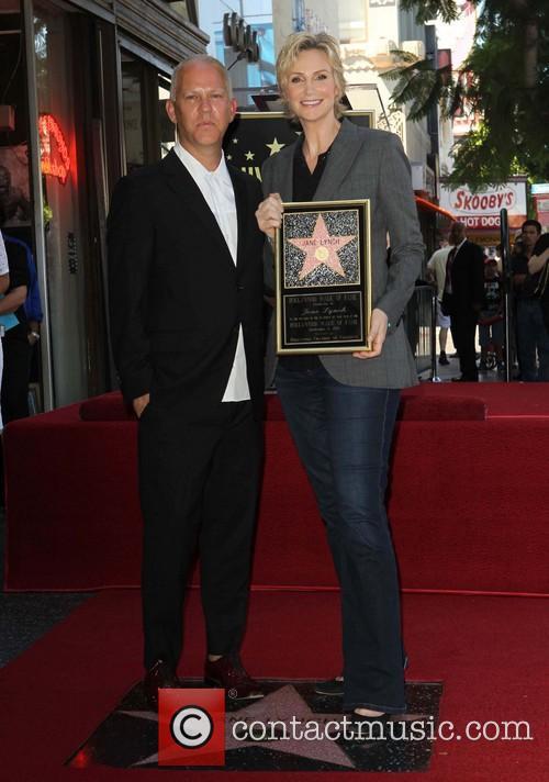 Ryan Murphy and Jane Lynch 5