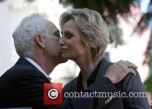 Ryan Murphy and Jane Lynch 6