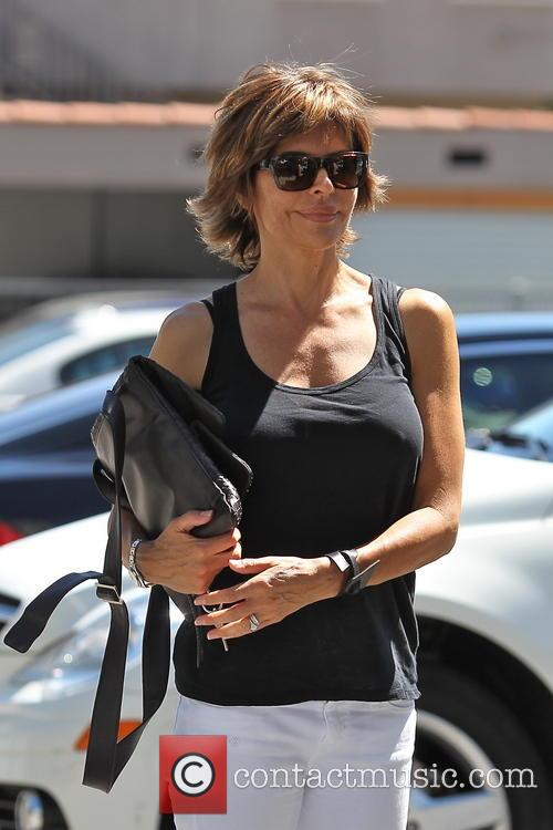 Lisa Rinna Out And About