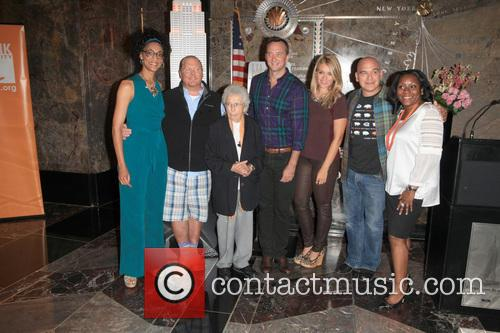 Carla Hall, Mario Batali, Guests, Clinton Kelly, Daphne Oz, Michael Symon and Margette Purvis 2