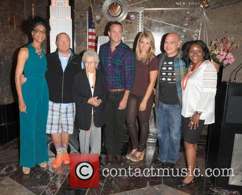 Carla Hall, Mario Batali, Guests, Clinton Kelly, Daphne Oz, Michael Symon and Margette Purvis