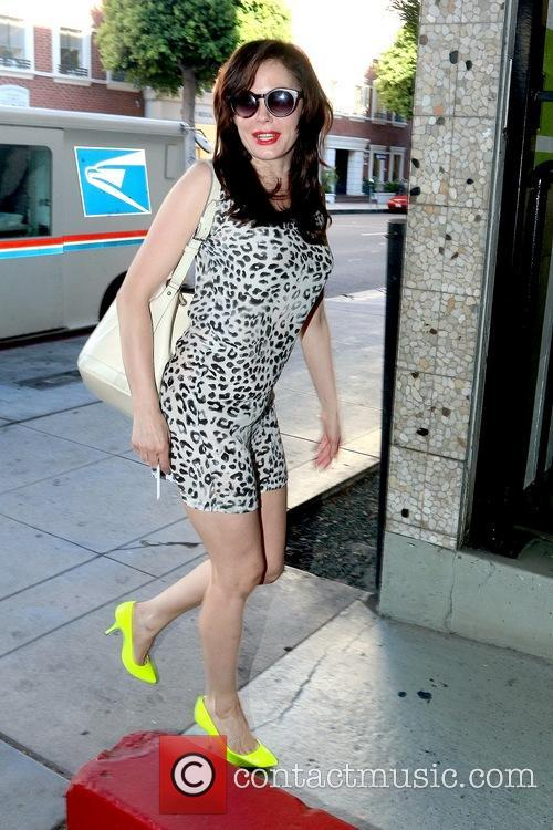 Rose McGowan In Beverly Hills