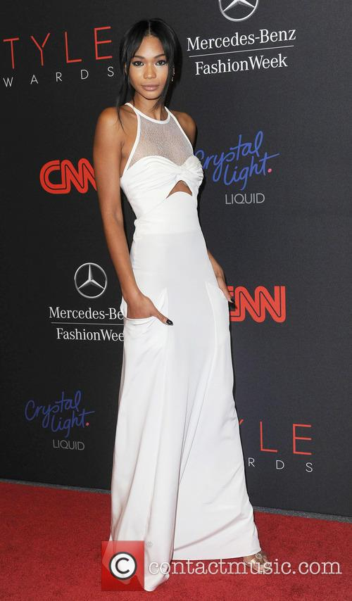 Chanel Iman, Lincoln Center, Mercedes Benz Fashion Week