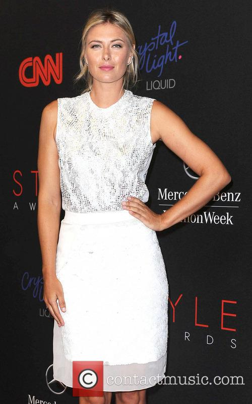 Maria Sharapova, Lincoln Center, Mercedes Benz Fashion Week