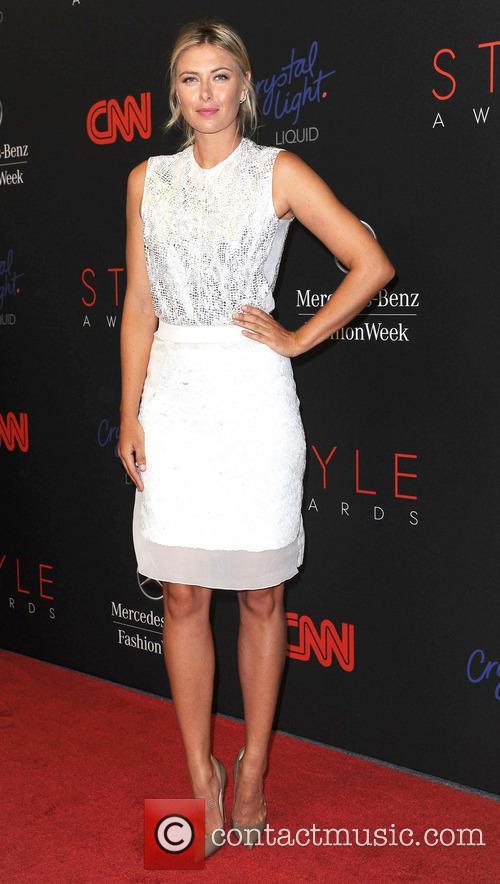 Maria Sharapova, Lincoln Center, Mercedes Benz Fashion Week
