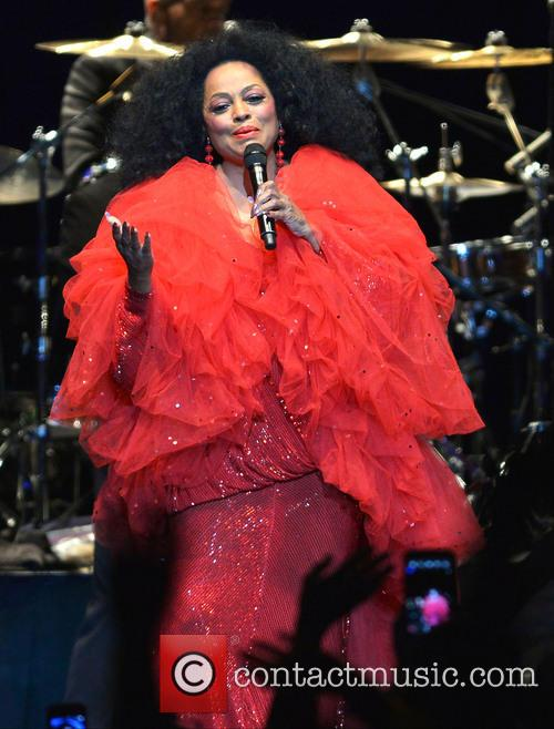Diana Ross at Hard Rock Live! in 2013