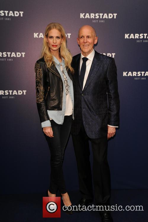 Poppy Delevigne and Andrew Jennings 7
