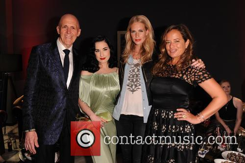 Poppy Delevigne, Dita Von Teese, Jade Jagger and Andrew Jennings 6
