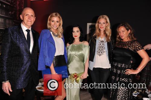 Poppy Delevigne, Dita Von Teese, Jade Jagger, Andrew Jennings and Lena Gercke 5