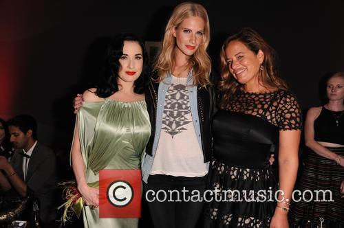 Poppy Delevigne, Dita Von Teese and Jade Jagger 3