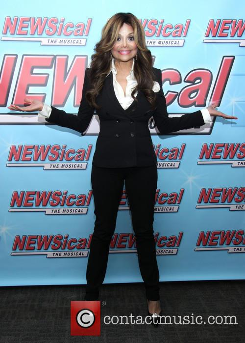 La Toya Jackson's First Night in Newsical the...