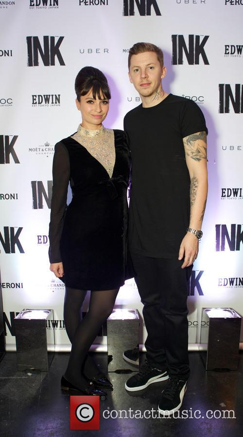 Professor Green and Gizzi Erskine 5