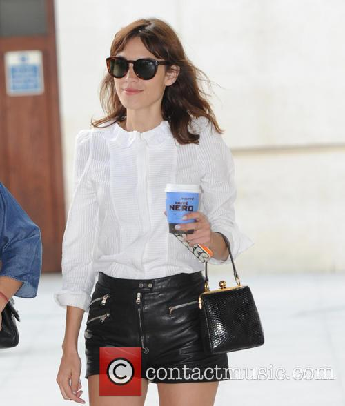 Alexa Chung out in london