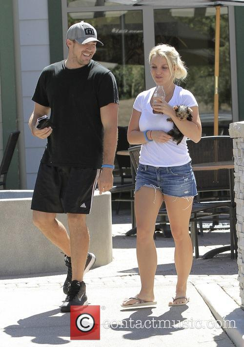 Britney Spears and David Lucado 5