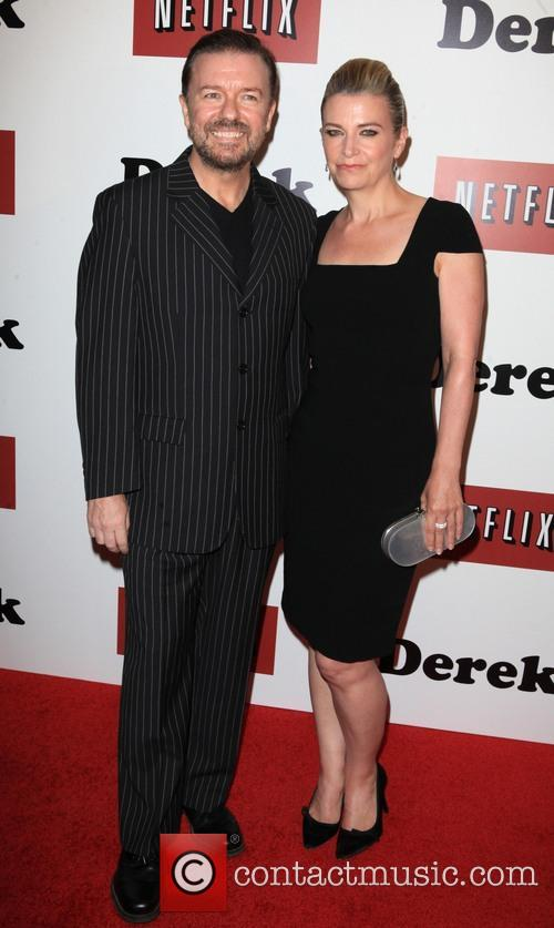 Ricky Gervais and Jane Fallon 7