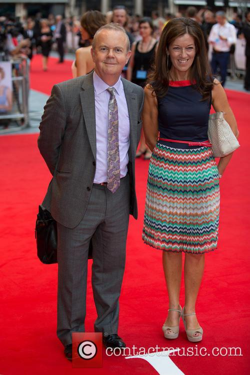 Victoria Hislop and Ian Hislop 1
