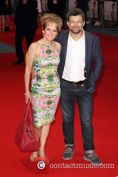 Andy Serkis and Lorraine Ashbourne 4