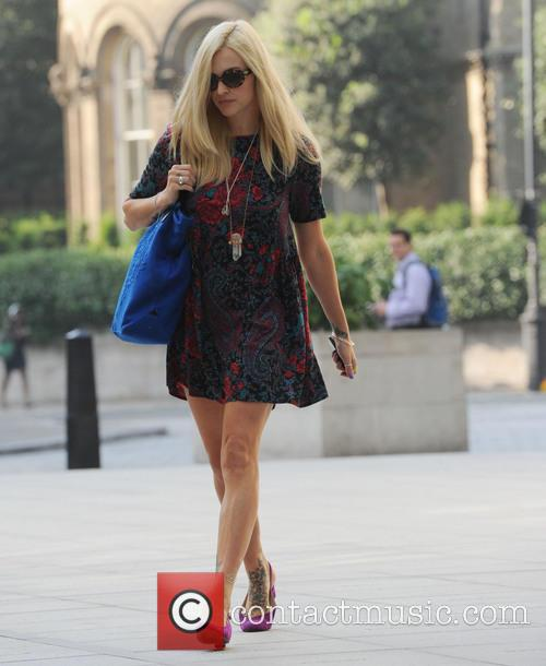 Fearne Cotton seen at radio one