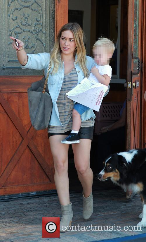 Hilary Duff and Luca Comrie 16