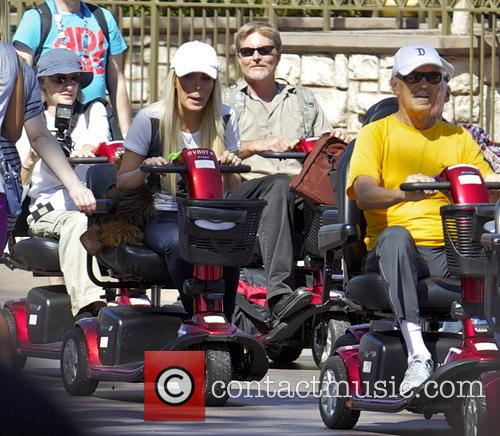 Hugh Hefner, Crystal Hefner, Disneyland